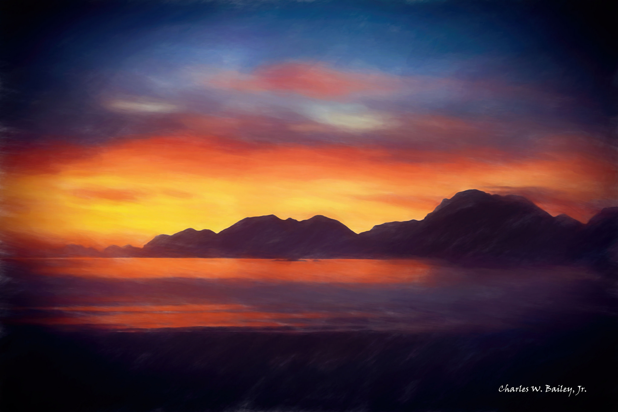How to draw sunset with pastel - Return To Home - With ... |Pastel Drawings Of Sunsets